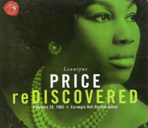 Leontyne Price / Rediscovered - February 28, 1965 - Carnegie Hall Recital Debut