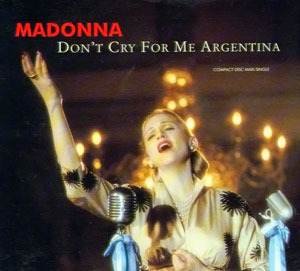 O.S.T. (Madonna) / Don't Cry for Me Argentina (SINGLE, 미개봉)
