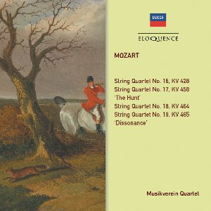 Musikverein Quartet / Mozart: String Quartets No.16-19 'Haydn Quartet' (2CD)