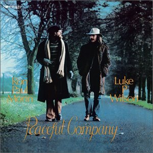 Ron Paul Morin, Luke P. Wilson ‎/ Peaceful Company (LP MINIATURE)