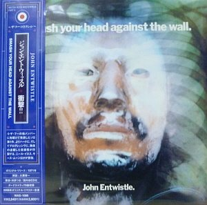 John Entwistle ‎/ Smash Your Head Against The Wall (LP MINIATURE)