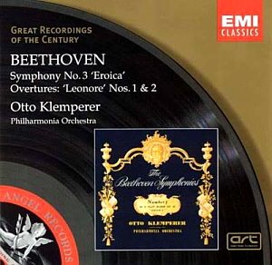 "Otto Klemperer / Beethoven: Symphony No. 3 ""Eroica"" - Leonore Nos. 1 & 2"