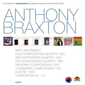 Anthony Braxton / The Complete Remastered Recordings On Black Saint & Soul Note (8CD, BOX SET)