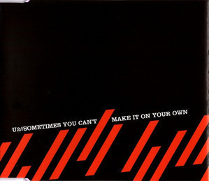 U2 / Sometimes You Can't Make It On Your Own (SINGLE, 홍보용)