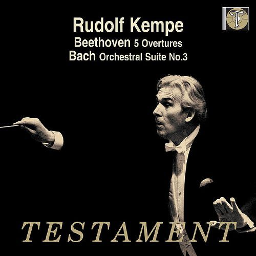Rudolf Kempe / Beethoven : Overtures, Bach : Orchestral Suite No.3 BWV1068