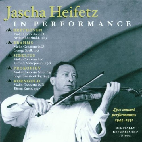 Jascha Heifetz / In Performance (2CD)