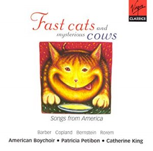 Patricia Petibon, Catherine King / Fast Cats and Mysterious Cows - Songs from America