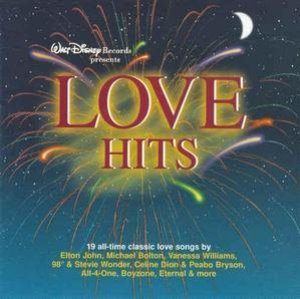 V.A. / Love Hits - Walt Disney Records Presents (미개봉)