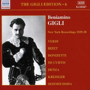 Beniamino Gigli / Gigle Edition, Vol.6 - New York Recordings