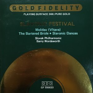 Barry Wordsworth, Slovak Philharmonic / Slavonic Festival (24K GOLD CD)