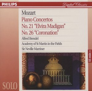 Sir Neville Marriner / Mozart: Piano Concertos No. 21 & 26 , Academy of St. Martin in the Fields