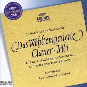 Ralph Kirkpatrick / Bach : The Well-tempered Clavier Vol. 1 (2CD)