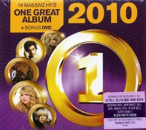 V.A. / One 2010 - 18 Massive Hits (CD+DVD, DIGI-PAK, 홍보용)
