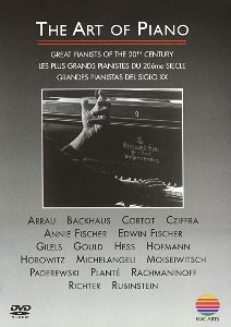 [DVD] V.A. / The Art Of Piano - Great Pianists Of The 20th Century