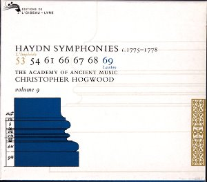 Christopher Hogwood, The Academy of Ancient Music / Haydn: Symphonies, Volume 9 (c. 1775-1778) (3CD)
