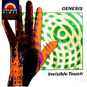 [LP] Genesis / Invisible Touch (Colour Vinyl, 미개봉)