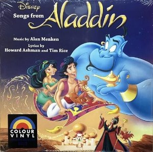 [LP] O.S.T. / Aladdin: The Songs (Blue Colour Vinyl) (미개봉)