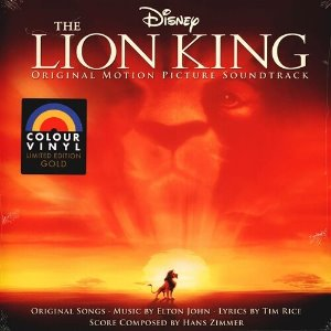 [LP] O.S.T. / The Lion King (Gold Colour Vinyl) (미개봉)