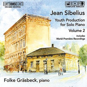 Folke Grasbeck / Sibelius : Youth Production for Solo Piano, Vol.2 (미개봉)
