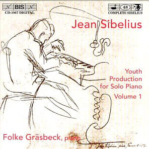Folke Grasbeck / Sibelius: Youth Production for Solo Piano Vol. 1 (미개봉)
