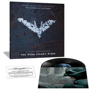 [LP] O.S.T. (Hans Zimmer) / The Dark Knight Rises (Score, Limited Edition, 180g) (미개봉)