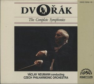 Vaclav Neumann / Dvorak: The Complete Symphonies (6CD, BOX SET)