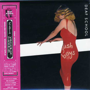 Deaf School / English Boys/Working Girls (LP MINIATURE)
