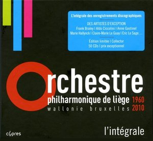 V.A. / Orchestre Philharmonique de Liege 50 Years (50CD, BOX SET)