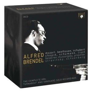Alfred Brendel / The Complete Vox Turnabout And Vanguard Solo Recordings (35CD, BOX SET)