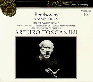 Arturo Toscanini / Beethoven: 9 Symphonies (5CD, BOX SET)