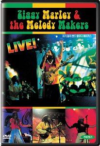 [DVD] Ziggy Marley & The Melody Makers / Live (미개봉)